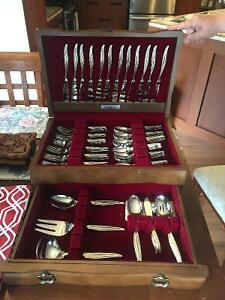 Tiffany China and Silver Flatware