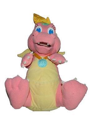 "Playskool Dragon Tales 1999 CASSIE Plush Stuffed Animal Toy 11"""