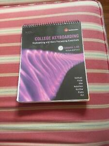 College Keyboarding Lessons 1-55 19th Edition