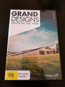 **REDUCED** Grand Designs House of the Year (Series 1) DVD St Agnes Tea Tree Gully Area Preview
