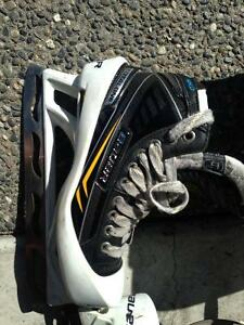 Intermediate goalie gear and skates