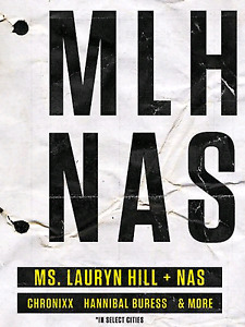Lauryn Hill & Nas plus special guest