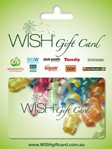 $600 voucher Woolworths wish gift card Fairfield Fairfield Area Preview