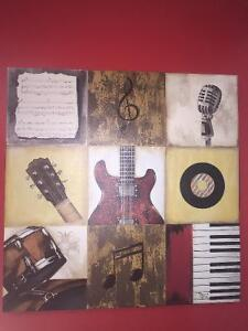 Music picture poster