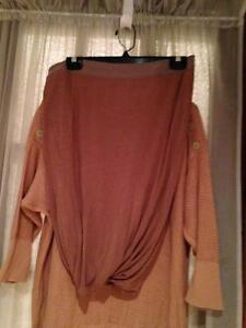 Alexander Wang Sweater and Skirt - Camel Color