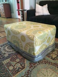 IKEA ottoman with slipcover