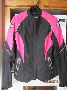 woman motorcycle apparel