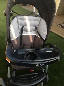 Sit N Stand stroller Baby trend