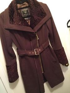 GUESS COAT with gorgeous colar Kitchener / Waterloo Kitchener Area image 1