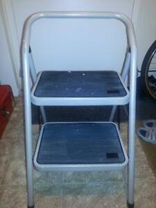 Extra large step 2-step stool for sale