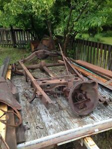 1928 Ford, Model A, Tanny, rear dif