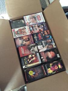 Over 170 VHS tapes $100 obo