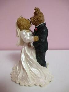 Bride and Groom Bears Wedding Cake Topper