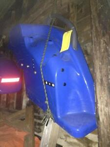 New holland rear fenders