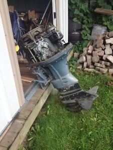 1965 Evinrude 60 HP Sport Four Motor London Ontario image 7