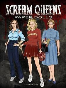 Scream Queens Paper Dolls by Tim Foley (Paperback, 2015)