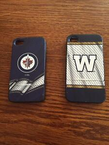 Winnipeg Jets and Winnipeg Blue Bomber iPhone 4/4s Cases
