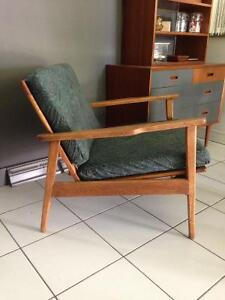 Fauteuil Mid Century vintage lounge chair