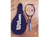 Wilson ProStaff Classic 6.1 si Tennis Racket and cover. Grip L4