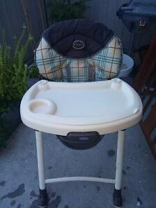 Graco high chair and Graco stroller