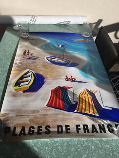 Beaches of France poster
