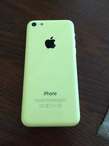 Yellow IPhone 5C Unlocked