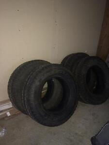 Trail Cutter Winter Tires for sale-LT275/70R18 London Ontario image 4