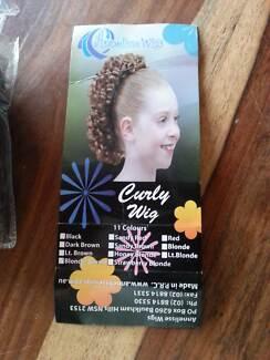 Girls Wiglet Curly Hairpiece