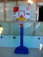 mint condition kids adjustable basketball net