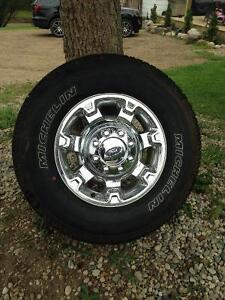 Brand new tires off f350 superduty