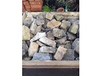 Pallet of Garden stone