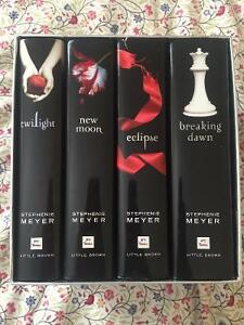 Twilight Series Box Set - Hard Cover