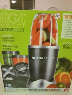 Magic bullet nutribullet brand new in box health food shakes