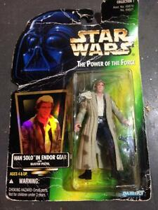 20yld Han Solo action figure in the case
