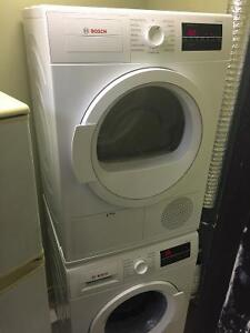 """Bosch stackable 24 """"washer and condensation dryer"""