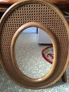 Oval Hanging Mirror-Excellent Condition