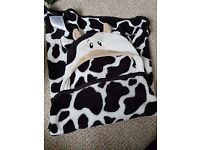 Childs Cow Blanket