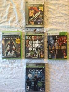 5 games $5 each or 5 for $20