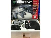 Nintendo n64 in box