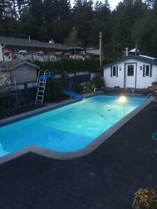 3BR UPPER Floor in Valleycliff - Bright, Newly renovated, Pool/H