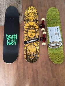 Planches skateboard