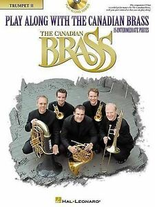 Play Along with the Canadian Brass - Trumpet 2: Book/CD by Colin (Mixed media...