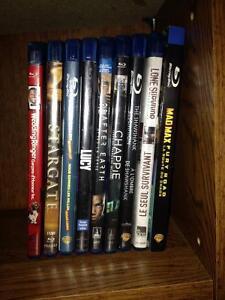Blu-rays $5 each