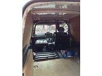 Genuine Peugeot partner bulkhead with trap door