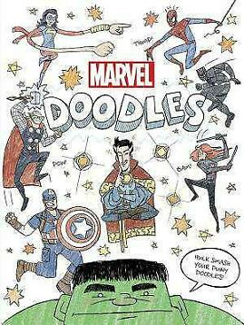 Marvel Doodles - Marvel Book Group - Paperback