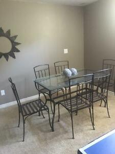 wrought iron table and chairs Cambridge Kitchener Area image 1