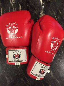 Boxing gloves - MANI - genuine leather - new Mount Waverley Monash Area Preview