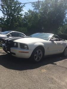 2008 Ford Mustang Convertible Cabriolet