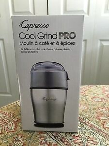 Cool Grind Pro coffee & spice grinder.  New in box