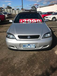2001 Holden Astra Convertible